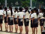 本校の運動会へ参加